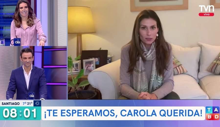 carola escobar deberá ser intervenida TVN
